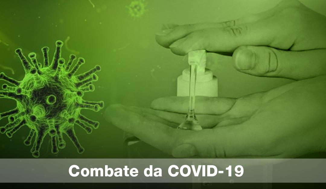 Importância da limpeza no combate da COVID-19