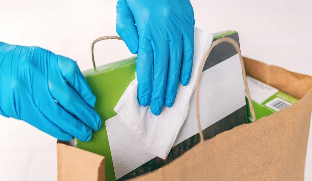 Como higienizar embalagens para evitar o contágio da Covid-19